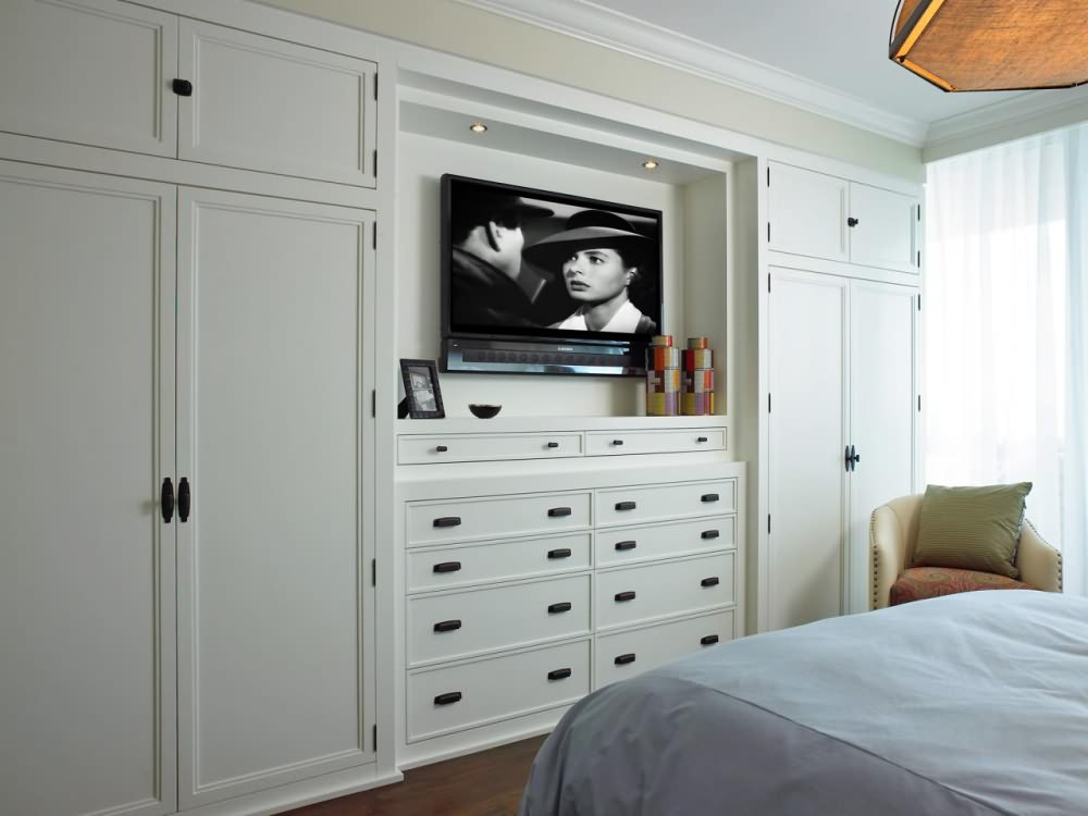 Bedroom Wall Cabinets Storage For Cool, Space-Saving Bedroom Design - House Convert