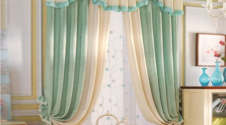 Country French Curtains, Warms the Romantic Atmosphere.