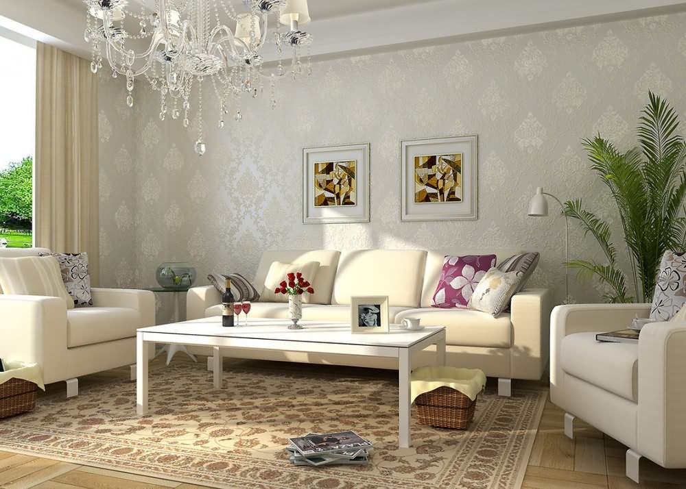 Find the best wallpaper living room.