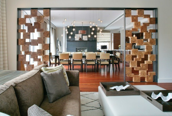 Go For a Modern Wall Partition Ideas.