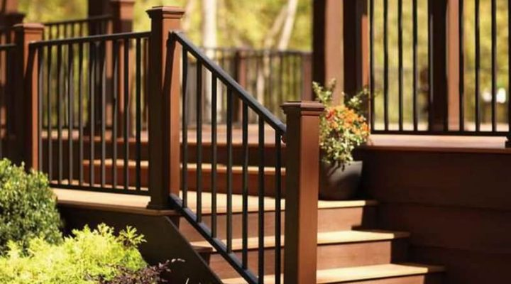 Railings for Outdoor Stairs and Its Excellent Design.