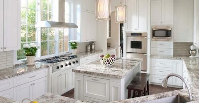 River White Granite Slab in the Furniture for the Cheapest Way.