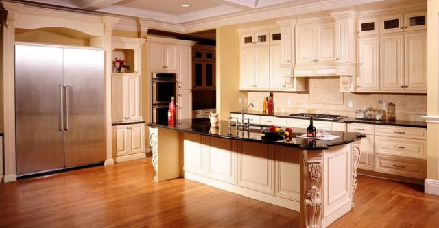 The Under Cabinet Outlet Strip for More Function of the Cabinet.