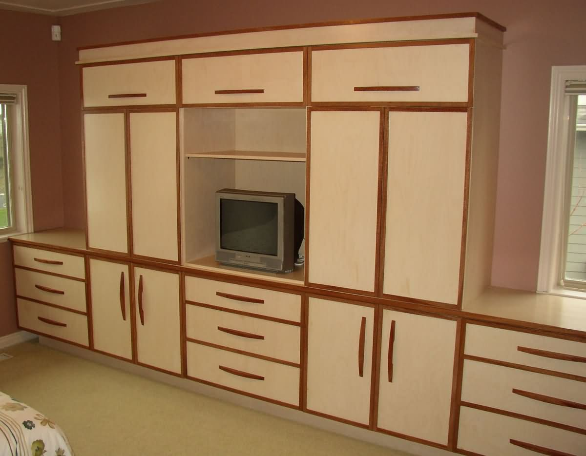Bedroom Wall Cabinets Storage.