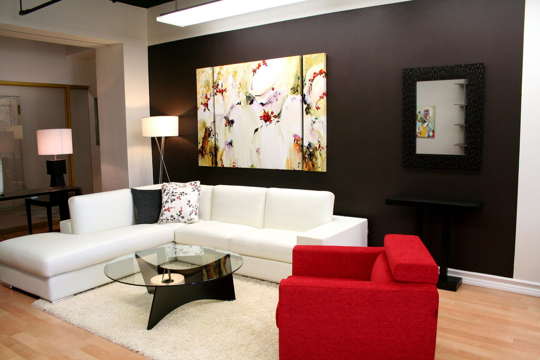 large wall pictures decorating tips.