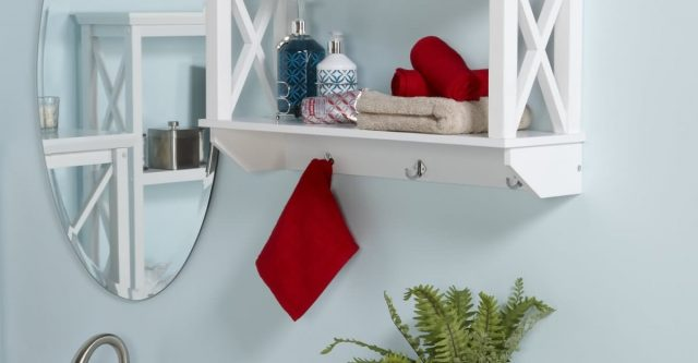 Quick, Easy and Wonderful Shelf for Bathroom Ideas.